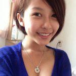 Fille asiatique du 14 en selfie sexy