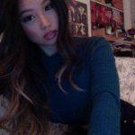 Fille asiatique du 25 en selfie sexy